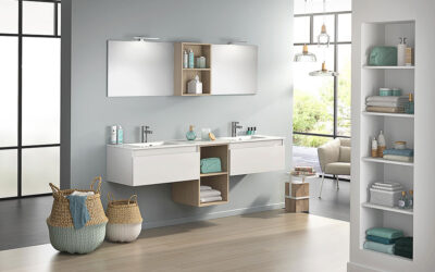 Tijd om je oude badkamer nieuw leven in te blazen.
